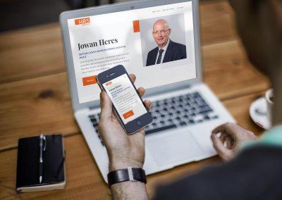 Nieuwe Website voor HRS Advies