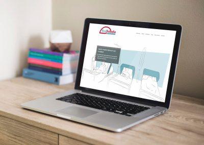 Website voor Bedhoodie